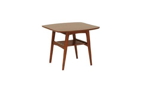 Euro Style Carmela Side Table, Walnut