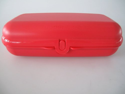 TUPPERWARE Maxi-Twin (1) Brotdose Box Behälter Lunchbox Rosa Maxitwin rot