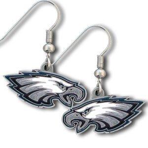 Philadelphia Eagles J Hook Earrings