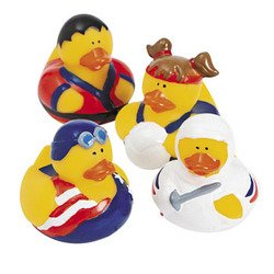 Olympic Rubber Duckys - Summer Games - 12 ct