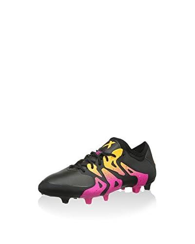 adidas Scarpa Da Calcio X 15.1 FG/AG  [Nero/Rosa]