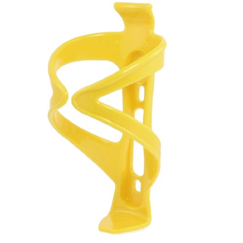 Como Bike Bicycle Cycling Plastic Water Bottles Holder Cage Yellow
