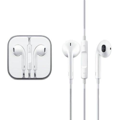 Apple MD827ZM/A - Cuffie originali con telecomando e microfono, per iPhone 5, iPod Touch, Nano in ORIGINAL PACK