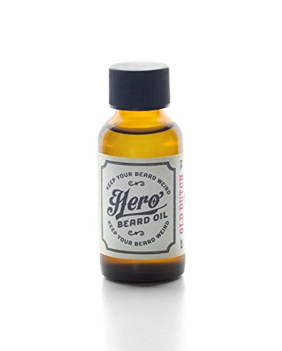 Hero & Co. - All Natural Beard Oil - Keep Your Beard Weird - Old Dutch Scent - 1 Oz