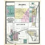 Pleasant Plain, Roanoke, Antioch, New Lancaster, Huntington Count... Fine-Art Reproduction