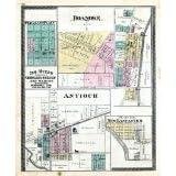Pleasant Plain, Roanoke, Antioch, New Lancaster, Huntington Count... Fine-Art Reproduction