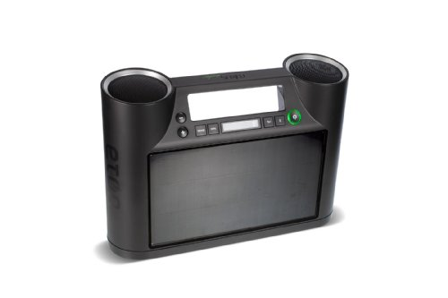 Eton Rukus Solar Bluetooth Sound System with Solar Panel - Black (NRKS100B)