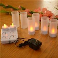 6Pc Led Flameless Candle Set