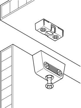 24-Set-GedoTec-Profi-Verbindungsbeschlag-Trapezverbinder-Korpusverbinder-RV-STAHL-Mbelverbinder-Komplett-Set-mit-Rastfunktion-verstrkte-Metall-Schrankverbinder-Markenqualitt-fr-Ihren-Wohnbereich