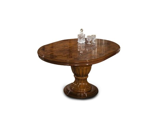 Elizabeth - Round Extend-able Dining Table Made in Italy