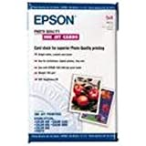 Epson Photo Quality Ink Jet Cards 5