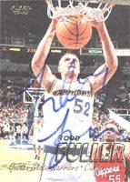 Todd Fuller Golden State Warriors 1998 Fleer Autographed Hand Signed Trading Card -... by Hall of Fame Memorabilia