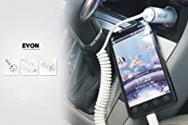 ELITE Vertu Ascent Ti Ferrari Smartphone TRUE 1 Amp Car Charger! The EYON ELITE quality charging circuitry extends battery life and improves charging times. (Retail Packaging)