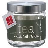 Bormioli Rocco Giara Natural Tea Jar With Lid, 25-1/2-Ounce