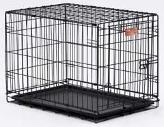 Midwest Container I-crate Black 24 Inch Single - 1524
