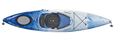 Perception Sport Swiftwater 10.5 Kayak (White/Blue)