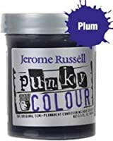 purple hair color, Jerome Russell, Jerome Russell Punky Semi-Permanent Colour Cream Plum 3.5 oz
