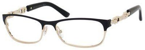 Jimmy Choo JIMMY CHOO Eyeglasses 78 08S2 Shiny Black Rose Gold 53MM