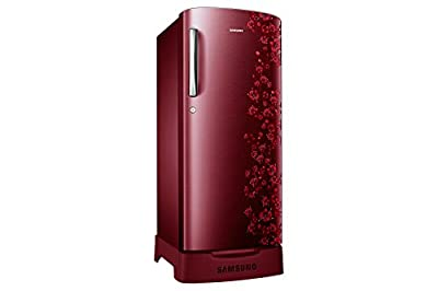 Samsung RR21J2835RX Direct-cool Single-door Refrigerator (212 Ltrs, 5 Star Rating, Orcherry Garnet Red)