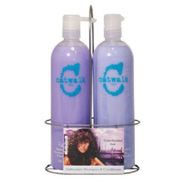 Tigi Catwalk Fashionista Coloured Hair Shampoo & Conditioner Duo Tween Set Deal - 2x750ml