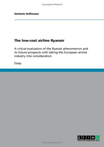 The low-cost airline Ryanair
