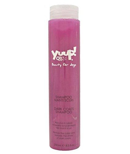 Yuup Shampoo Manti scuri - Ravviva e ridona brillantezza e pettinabilità, per cani