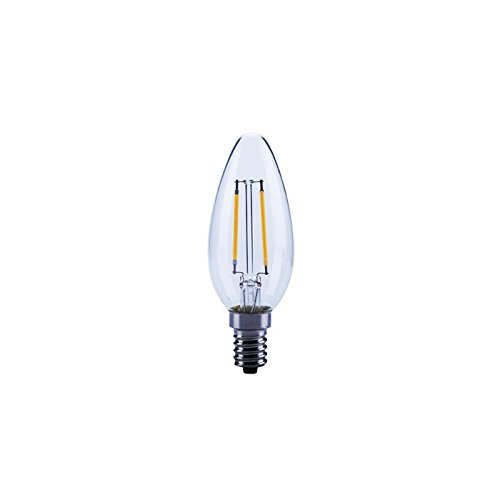 Opple 4W E14 Candle LED Bulb (Warm White, Pack Of 2)