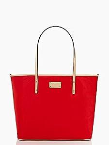 KATE SPADE Sporty Nylon Harmony Baby Bag Modern Red wkru1849 by KATE SPADE New York