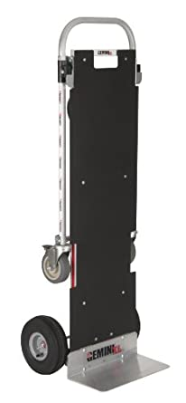 "Magline XLSP Gemini XL Convertible Hand Truck, Pneumatic Wheels, 500 lbs Load Capacity, 62-3/4"" Height, 57-1/4"" Length x 22-3/4"" Width"