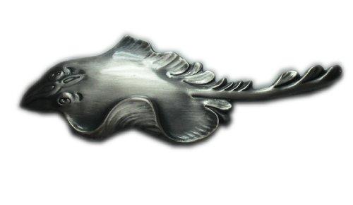 Aphrodite(アフロディーテ) ネクタイピン 魚 エイ 銀色 日本製