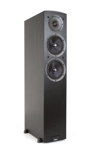 Jamo C605 Floor Standing Speaker (Single, Black)