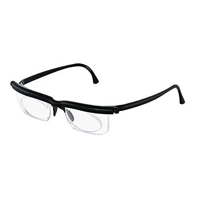 Adlens Adjustables Instant Prescription Eyeglasses (Black)
