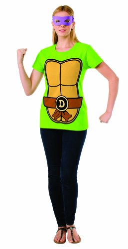 Rubie's Costume Teenage Mutant Ninja Turtles Top With Mask and Donatello