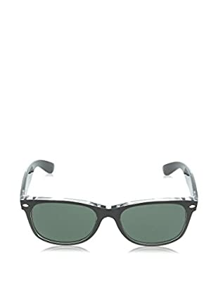 Ray-Ban Gafas de Sol 2132 _6052 NEW WAYFARER (55 mm) Negro mate / Verde Oscuro