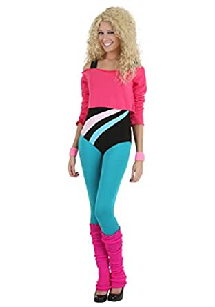 Fun Costumes womens Women's 80's Workout Girl