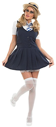Sexy St Trinians School Girl Fancy Dress Costume. Sizes 8 to 26