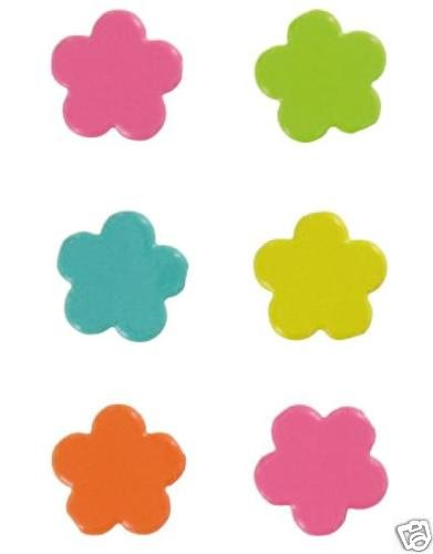 Artemio 20 piezas Diseño de flores de juego de encuadernadores Jumbo, Multi-color