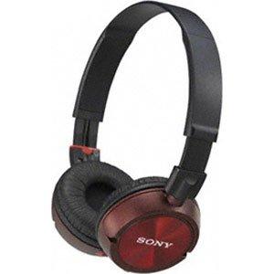 ソニー 密閉型モニターヘッドホン (レッド)SONY MDR-ZX300 MDR-ZX300-R