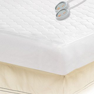 Beautyrest Queen Size Heated Electric Mattress Pad (OS55-129)