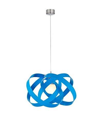 Emporium Lámpara De Suspensión Nuvola Blue Azul