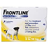 Frontline Spot On Flea Drops Small Dog 2-10Kg 3Pk