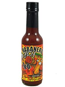 Habanero Punch Tko Extreme Recipe With Honey Garlic Hot Sauce - 5 Oz from Savory Hot Sauce Co.