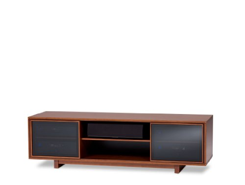 31YmiiTAQnL BDI Cirrus 8157 Double Wide Enclosed Cabinet   Natural Stained Cherry