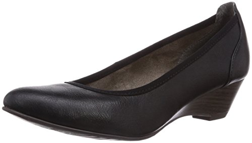 Tamaris 22304, Decolleté chiuse donna, Nero (Nero (Black 001)), 40