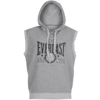 Sleeveless hoodie boxing