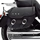 H-D Softail Leather Saddlebags Fat Boy Models 88286-07