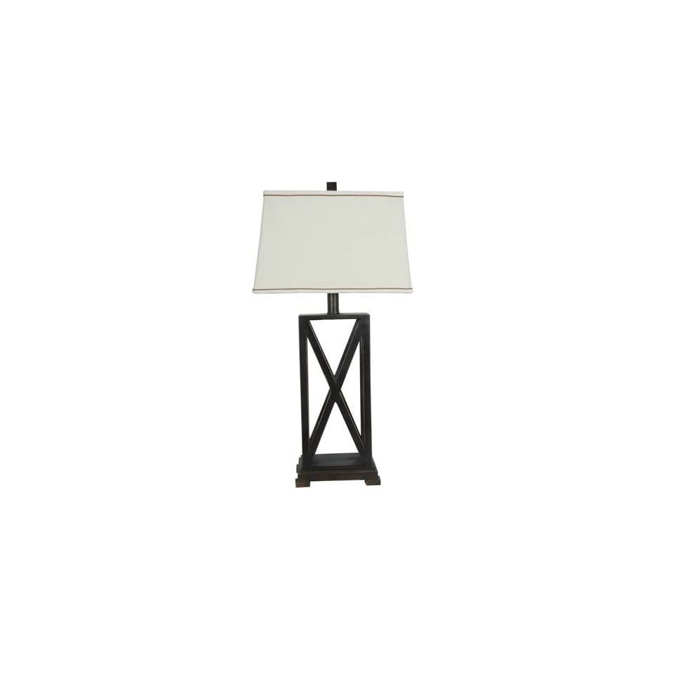 Crestview Collection Criss   Cross Table Lamp