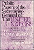 img - for Public Papers of the Secretaries General of the United Nations book / textbook / text book