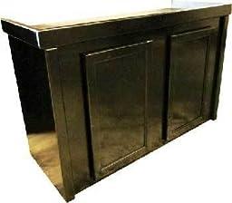 R&J Enterprises ARJ00391 Birch Wood Aquarium Cabinet Stand, 48 by 13-Inch, Black