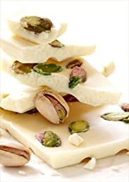 White Chocolate Pistachio and Cranberry Bark